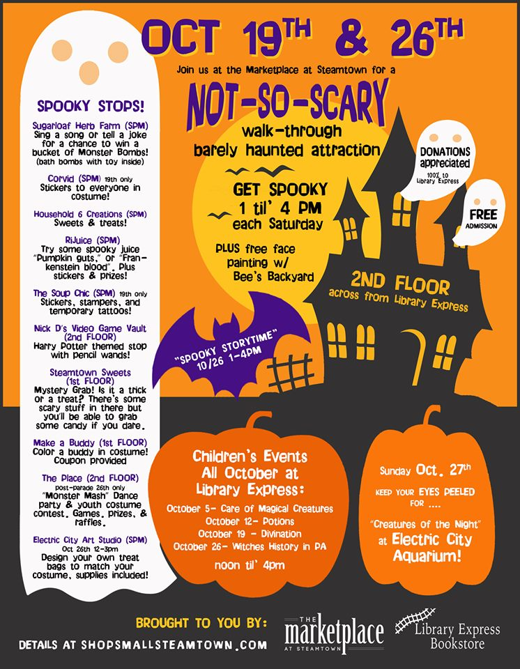 Not-So-Scary Halloween Fun