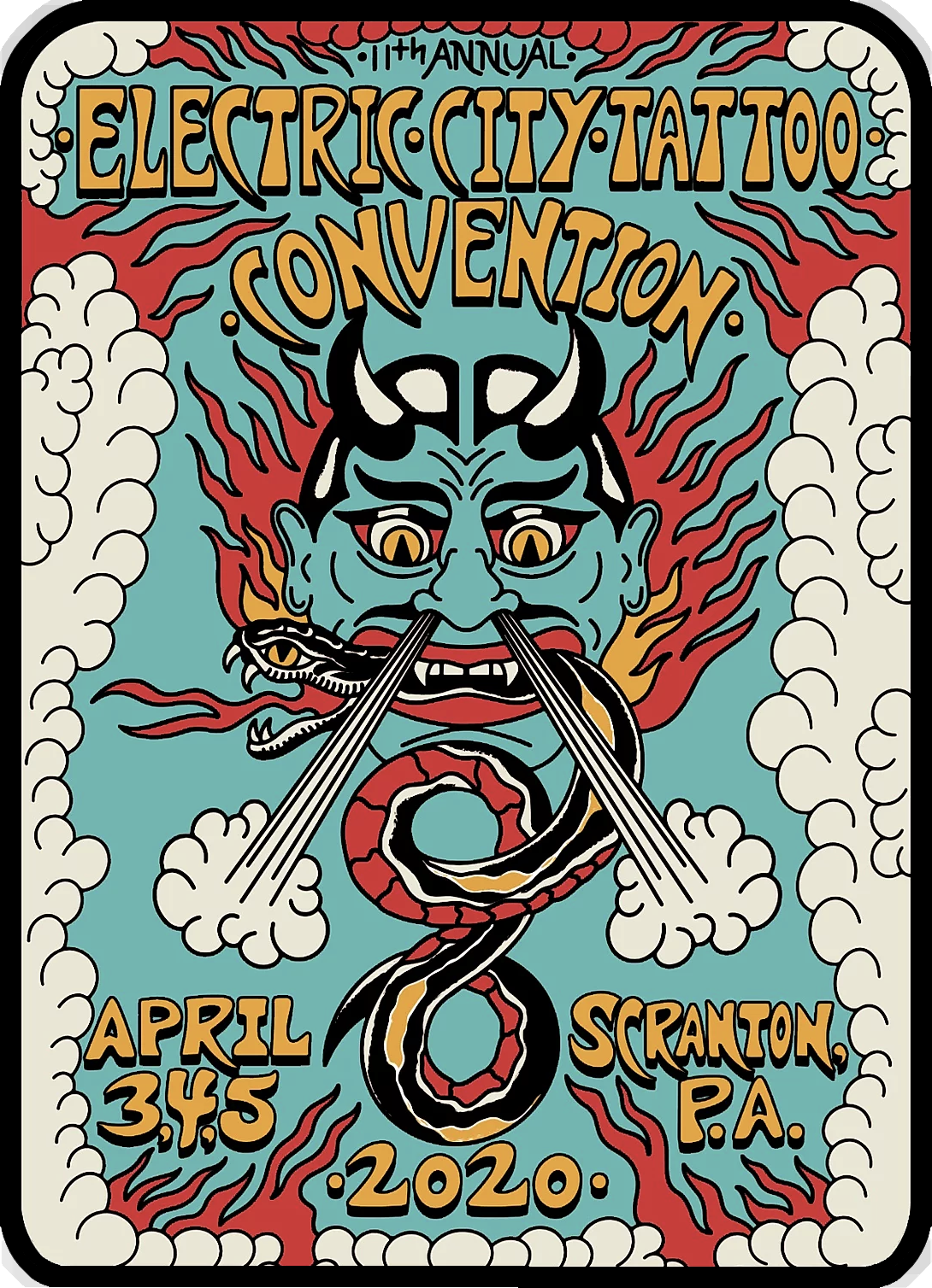 Electric City Tattoo Convention 2020