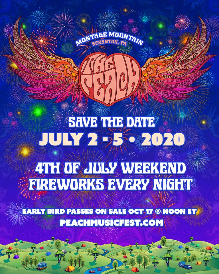 Peach Music Festival at Montage Mountain